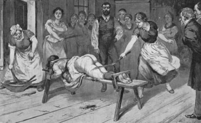 Bordel au 18ème siècle O est listé (ou nom) 10 sur la liste Where Did BDSM Come From?