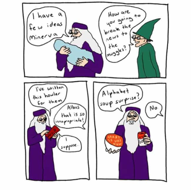 Congratulations, It's A ... is listed (or ranked) 4 on the list This Artist Captures How She Thinks Harry Potter Would Play Out IRL