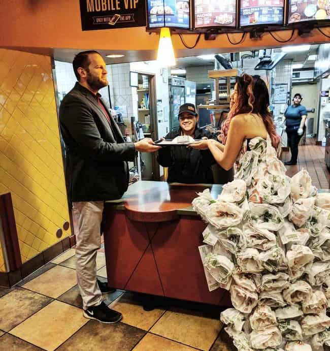 If You Don't Get Married In A ... is listed (or ranked) 1 on the list People Who Maybe Love Taco Bell Just A Little Too Much