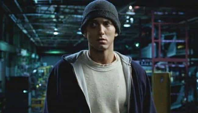 "Eminem (Then) is listed (or ranked) 1 on the list Here's What The Cast Of ""8 Mile"" Is Up To And Looks Like 15 Years Later"