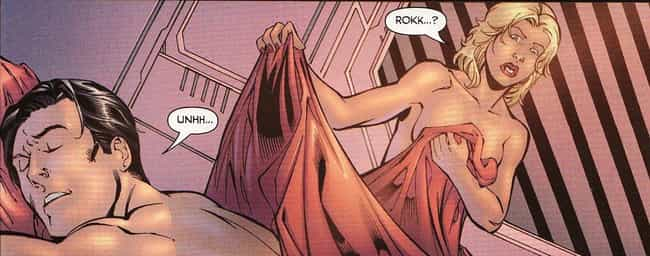 Saturn Girl Drunkenly Lo... is listed (or ranked) 4 on the list Messed Up Virginity Loss Stories In Comic Books