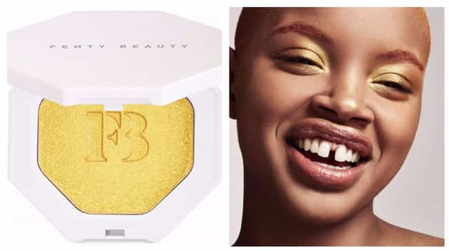 Trophy Wife Highlighter By Fen... is listed (or ranked) 1 on the list Beauty Products For Girls Obsessed With Gold