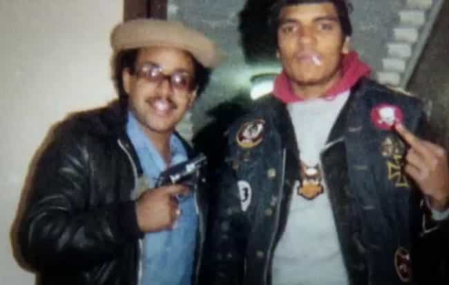 Smoking, Waving A Pistol... is listed (or ranked) 4 on the list Eye-Opening Photos Of Violent Street Gangs From 1970s New York