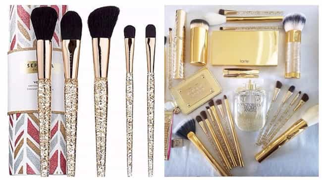 Vessel Canister Brush Set By S... is listed (or ranked) 3 on the list Beauty Products For Girls Obsessed With Gold