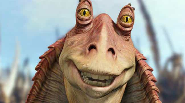 Jar Jar Has Crazy Physical Abi... is listed (or ranked) 2 on the list This Fan Theory Has Reddit Convinced Jar Jar Binks Was The Greatest Sith Lord Of All Time