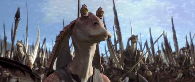 He Is Skilled In Battle is listed (or ranked) 3 on the list This Fan Theory Has Reddit Convinced Jar Jar Binks Was The Greatest Sith Lord Of All Time