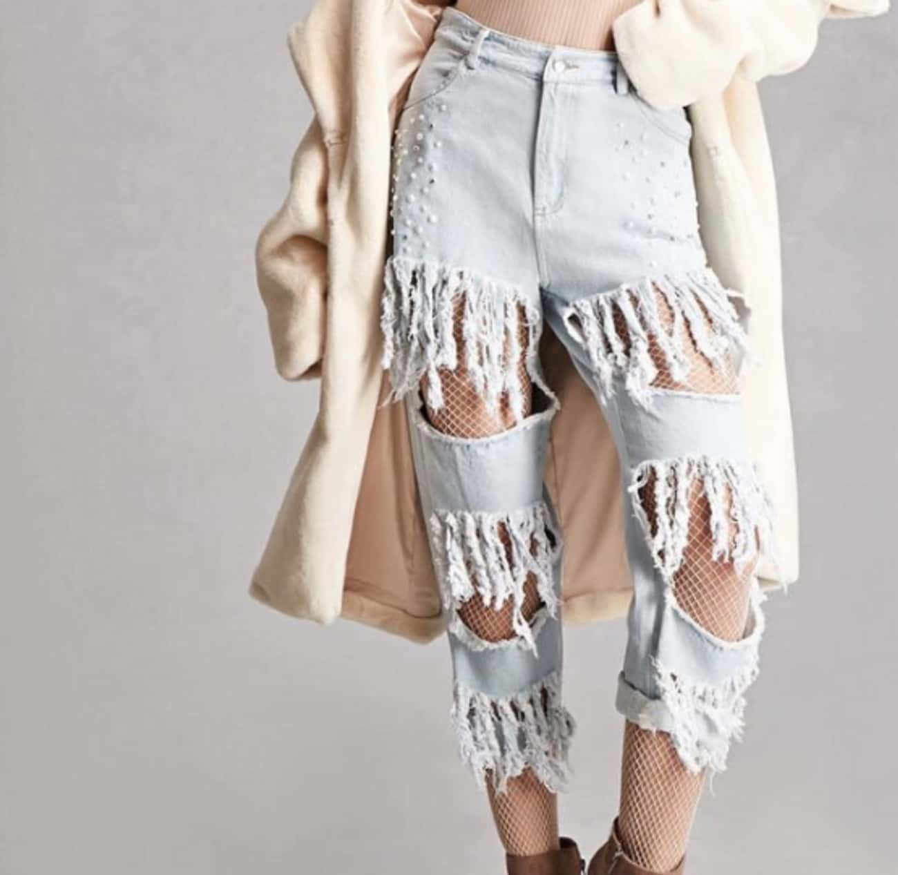 Jeans That Cover Every Trend Y is listed (or ranked) 4 on the list Times Forever 21 Took Things Way Too Far