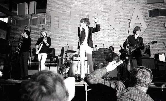 This Hard-Partying Rock N' Roll Goddess Was The Rolling Stones' Muse