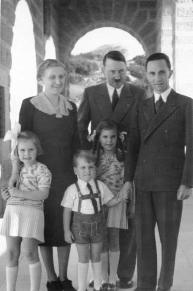 The Six Goebbels Childre... is listed (or ranked) 2 on the list The Tragic Story Of The Goebbels Children, Adolf Hitler's Favorite Kids