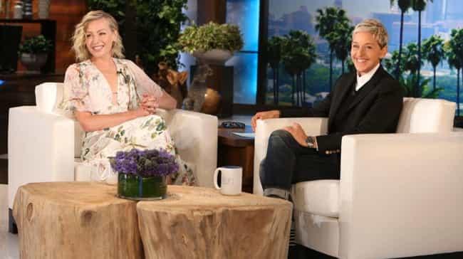 Ellen DeGeneres Lights U... is listed (or ranked) 3 on the list Adorable Stories About Ellen DeGeneres And Portia De Rossi