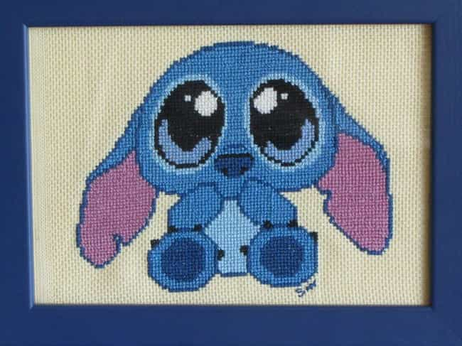 The Single Most Fitting ... is listed (or ranked) 2 on the list Adorably Nerdy Cross Stitch Art That Every Geek Will Want On Their Wall