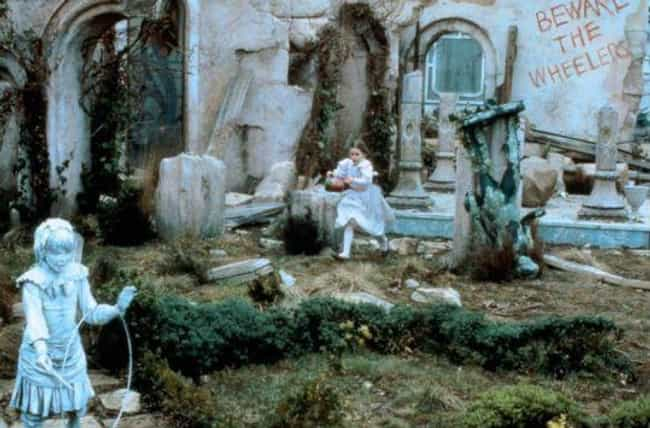 The Stone Citizens Of Em... is listed (or ranked) 4 on the list The Eeriest Things About 'Return To Oz'