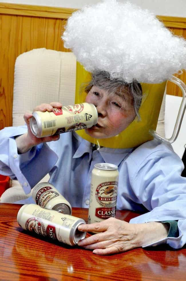 The Beer Went Straight T... is listed (or ranked) 3 on the list An 89-Year-Old Granny Just Found Photography, And Her Self-Portraits Are Hilariously Heartwarming
