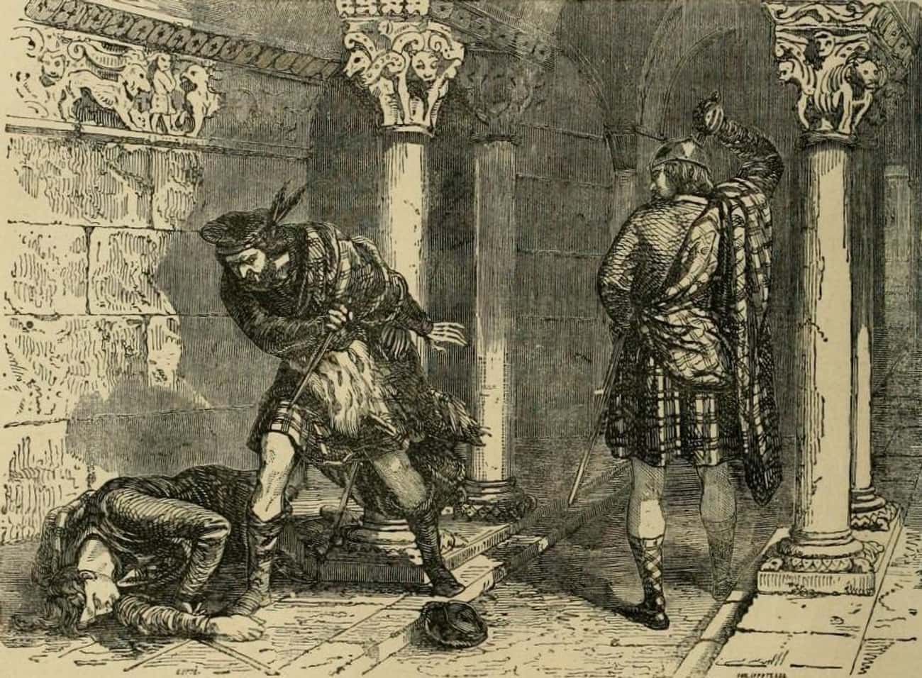 Robert The Bruce Stabbed His Rival To Death In A Church