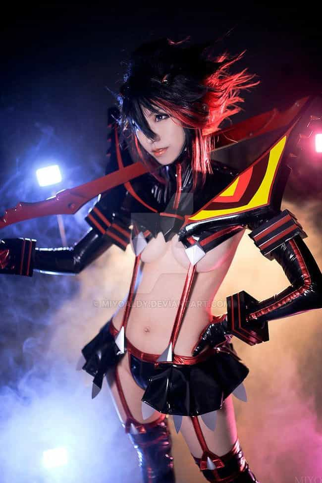Ryuko Stands Tall In Scantly C... is listed (or ranked) 1 on the list Kill La Kill Cosplay That Will Tear You To Shreds