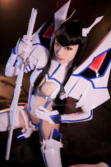 Satsuki Is A Fighter With Styl is listed (or ranked) 2 on the list Kill La Kill Cosplay That Will Tear You To Shreds