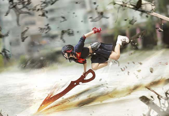 Ryuko Dashes In For The ... is listed (or ranked) 5 on the list Kill La Kill Cosplay That Will Tear You To Shreds