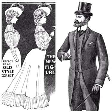 The Early 1900s Championed Vol is listed (or ranked) 1 on the list These Were The Ideal Beauty Standards For Men And Women Throughout The 20th Century