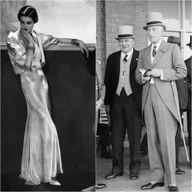 1930s Fashion Was Glamor... is listed (or ranked) 4 on the list These Were The Ideal Beauty Standards For Men And Women Throughout The 20th Century