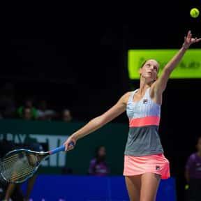 Karolina Pliskova is listed (or ranked) 4 on the list Best Current Women's Tennis Serves