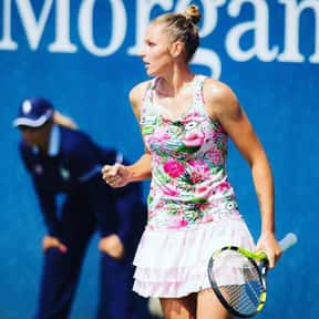 Kristyna Pliskova is listed (or ranked) 13 on the list Best Current Women's Tennis Serves