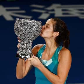 Julia Goerges is listed (or ranked) 12 on the list Best Current Women's Tennis Serves