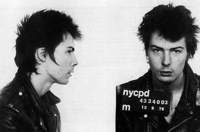 Sid Vicious Was Arrested... is listed (or ranked) 2 on the list After Decades Of Evidence, Did Sid Vicious Really Murder Nancy Spungen?