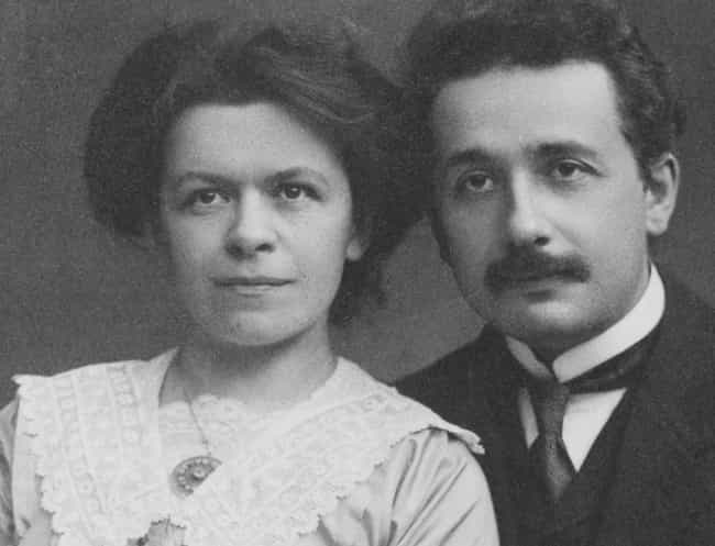 With Their Marriage On The Roc... is listed (or ranked) 4 on the list Turns Out Einstein Was A Cold-Hearted Misogynist Who Controlled His Wife's Every Move