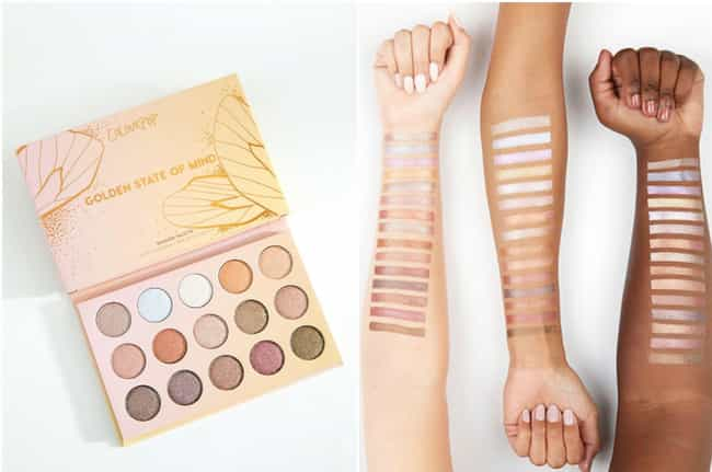Golden State of Mind Palette b... is listed (or ranked) 3 on the list God-Tier Palettes Every Makeup Junkie Would Kill For