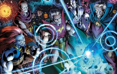 The Elders Are A Sort Of Ancie is listed (or ranked) 1 on the list The Elders Of The Universe Are The Most Important Characters In Marvel Movies You Know Nothing About