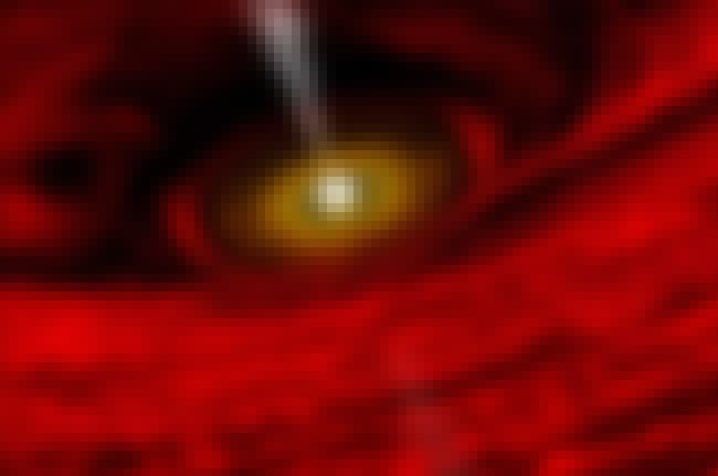 The View Near A Black Hole is listed (or ranked) 2 on the list Spooky Astronomy Photos That Will Make You Scared To Check Your Star Chart