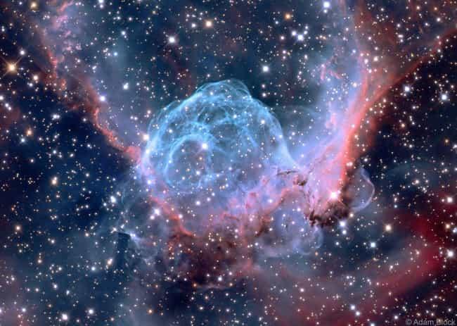 Thors Helmet Emission Nebula