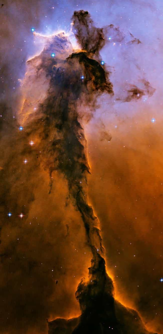 The Fairy Of The Eagle Nebula is listed (or ranked) 3 on the list 26 Beautiful Nebula Photos That Show Just How Beautiful The Cosmos Can Be