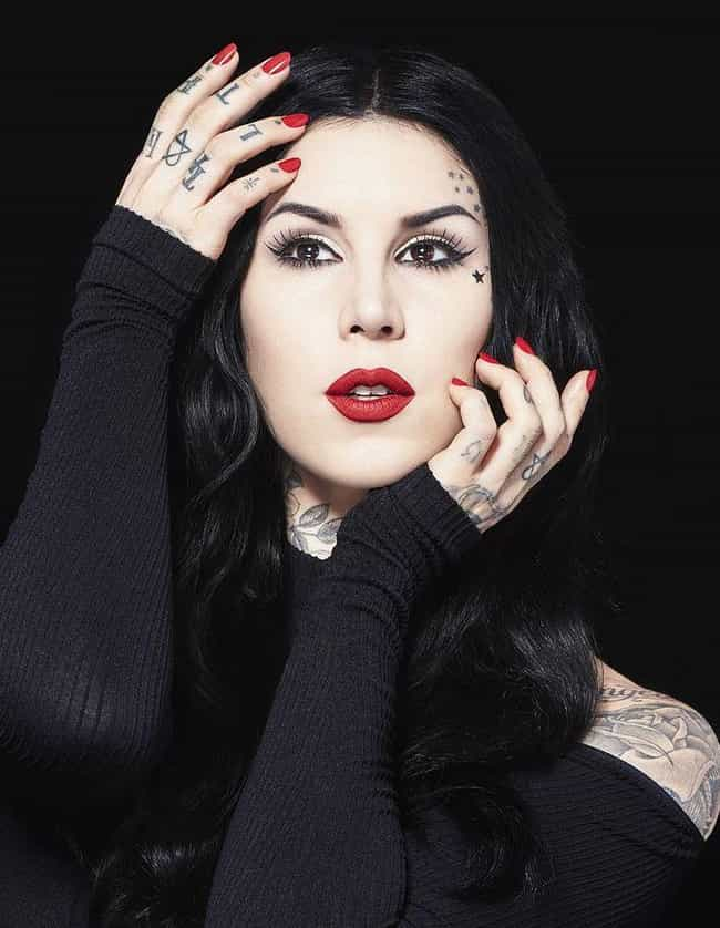 She Hates The Kardashian... is listed (or ranked) 1 on the list 14 Things You Didn't Know About Kat Von D