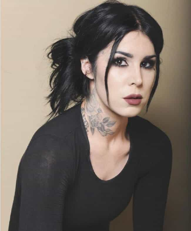 She Has Been Sober For O... is listed (or ranked) 2 on the list 14 Things You Didn't Know About Kat Von D