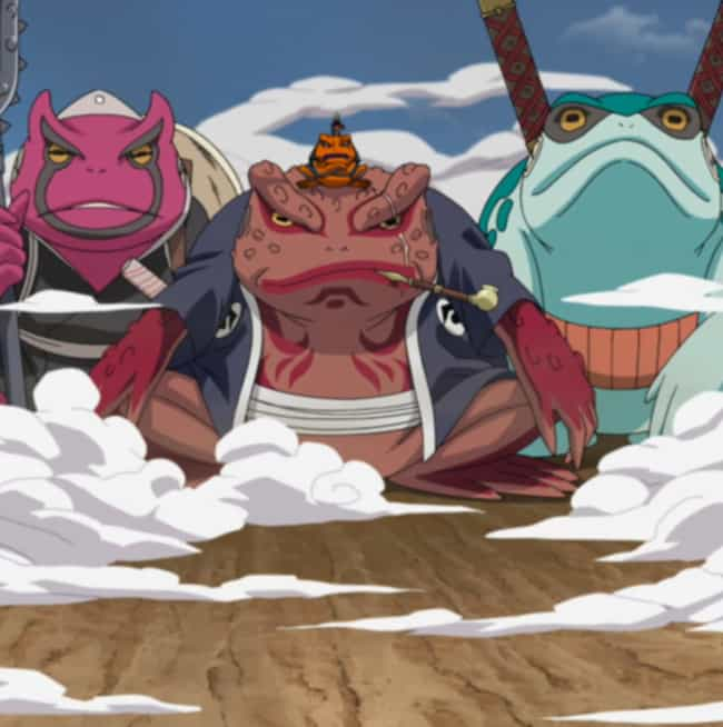 The Toads Are Named Afte... is listed (or ranked) 1 on the list 20 Things You Didn't Know About Naruto
