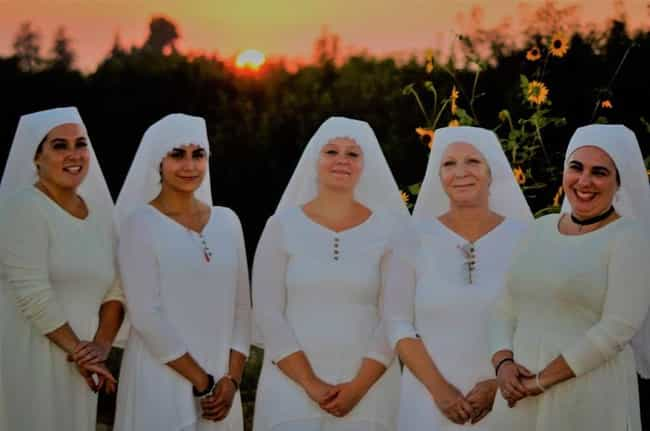 """There's No Vow Of Chastity is listed (or ranked) 8 on the list Narco Nuns: Sisters Make Oil And Soap From Cannabis Believing It Is A """"Gift From God"""""""