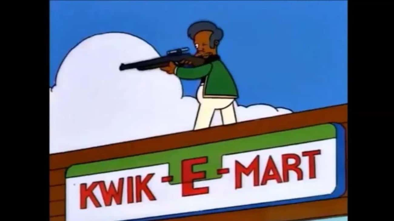 Apu Is A Completely One-Dimens is listed (or ranked) 4 on the list 12 Reasons Why Apu Should Be Taken Off The Simpsons
