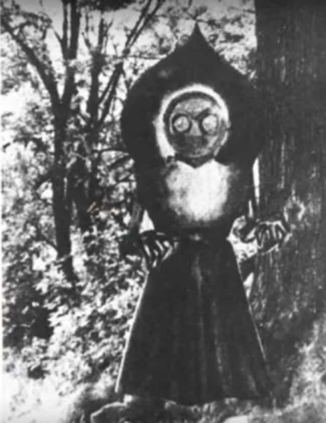 The Flatwoods Monster's Ap... is listed (or ranked) 1 on the list Whatever It Is, The Flatwoods Monster Of West Virginia Makes All Who Encounter It Violently Ill