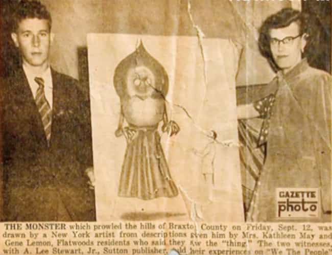 The Flatwoods Monster Has Been... is listed (or ranked) 4 on the list Whatever It Is, The Flatwoods Monster Of West Virginia Makes All Who Encounter It Violently Ill