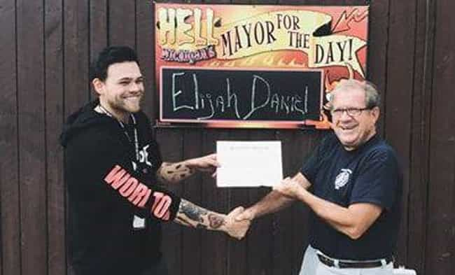 The Mayor Of Hell Made H... is listed (or ranked) 1 on the list Hell Is A Real Place And It's A Small Town In Michigan