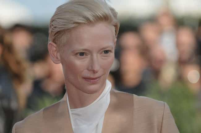 She Pioneered A Portable... is listed (or ranked) 2 on the list Tilda Swinton Is Hollywood's Most Intoxicating Weirdo