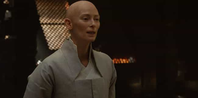 She Didn't Speak For Five Year... is listed (or ranked) 4 on the list Tilda Swinton Is Hollywood's Most Intoxicating Weirdo