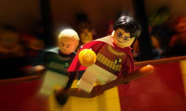 Pass Me That Snitch, Harry Pot... is listed (or ranked) 4 on the list Check Out 14+ Of Your Favorite Movie Scenes Brilliantly Recreated With LEGOs