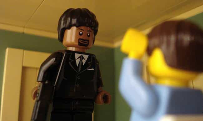Don't Say What Again To This P... is listed (or ranked) 2 on the list Check Out 14+ Of Your Favorite Movie Scenes Brilliantly Recreated With LEGOs