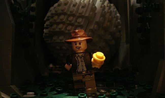 Indiana Jones Will Never Stop ... is listed (or ranked) 4 on the list Check Out 14+ Of Your Favorite Movie Scenes Brilliantly Recreated With LEGOs