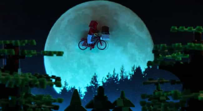 E.T. Feels Just As Magical In ... is listed (or ranked) 3 on the list Check Out 14+ Of Your Favorite Movie Scenes Brilliantly Recreated With LEGOs