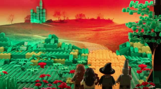 We're Off To See The Wizar... is listed (or ranked) 1 on the list Check Out 14+ Of Your Favorite Movie Scenes Brilliantly Recreated With LEGOs