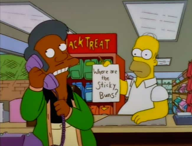 The Show Can't Change Apu's Ac... is listed (or ranked) 2 on the list 12 Reasons Why Apu Should Be Taken Off The Simpsons