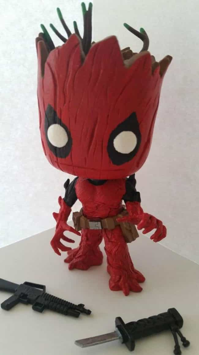 For Whoever Wanted A Deadpool ... is listed (or ranked) 4 on the list 20 Of The Best Fan-Made Funko Pop! Toys For The Nerd Who Has It All